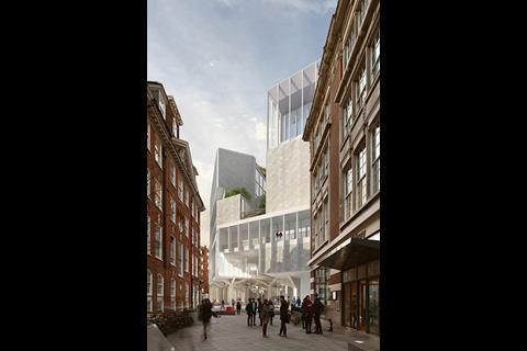 Team D - LSE Paul Marshall Building